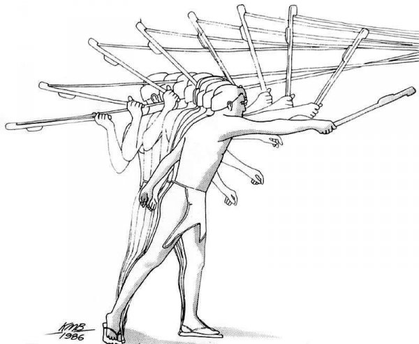 use diagram of an atlatl