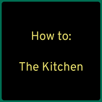 Kitchen and Cooking Considerations